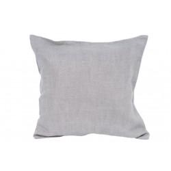Dekoratyvinė lininė pagalvė PILKA