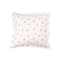 Lininis pagalvės užvalkalas  Rožės