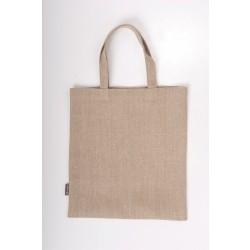 Lininis pirkinių krepšys, pilkas