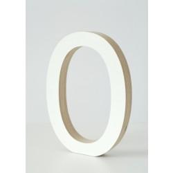 Medinė dekoratyvinė raidelė O