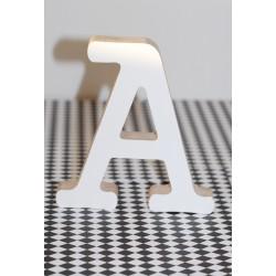 Dekoratyvinė medinė raidelė A
