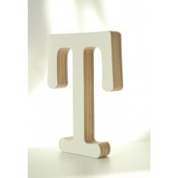 Medinė dekoratyvinė raidelė T