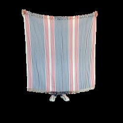 Dryžuotas paplūdimio rankšluostis, pledas AINA 2