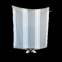 Dryžuotas paplūdimio rankšluostis, pledas ALF2