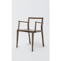 Riešutmedžio masyvo kėdė GHOST PLUS