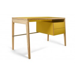 Rašomasis stalas MINT DESK, geltonas