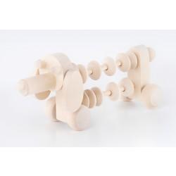 Medinis žaislas Šuniukas skaitliukas